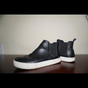 Shoes - Faux leather black shoes